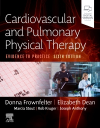 cover image - Evolve Resources for Cardiovascular and Pulmonary Physical Therapy,6th Edition