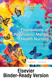 cover image - Varcarolis' Foundations of Psychiatric-Mental Health Nursing - Binder Ready,9th Edition