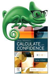 cover image - Elsevier Adaptive Quizzing for Gray Morris's Calculate with Confidence, Canadian Edition (eCommerce Version),2nd Edition