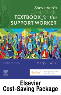 cover image - Sorrentino's Canadian Textbook and Workbook for the Support Worker - Text and Workbook Package,5th Edition