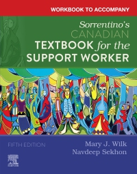 cover image - Evolve Workbook to Accompany Sorrentino's Canadian Textbook for the Support Worker,5th Edition