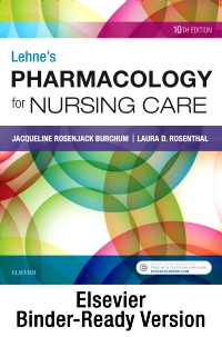 cover image - Lehne's Pharmacology for Nursing Care - Binder Ready,10th Edition