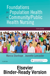 cover image - Foundations for Population Health in Community/Public Health Nursing - Binder Ready,5th Edition