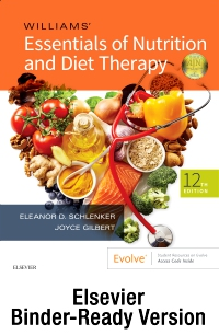 cover image - Williams' Essentials of Nutrition and Diet Therapy - Binder Ready,12th Edition