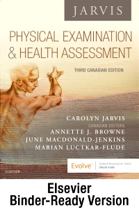 cover image - Physical Examination and Health Assessment - Canadian - Binder Ready,3rd Edition