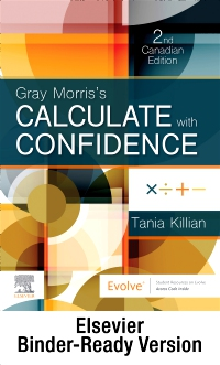 cover image - Gray Morris's Calculate with Confidence, Canadian Edition - Binder Ready,2nd Edition