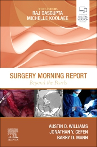 cover image - Surgery Morning Report: Beyond the Pearls - Elsevier E-Book on VitalSource