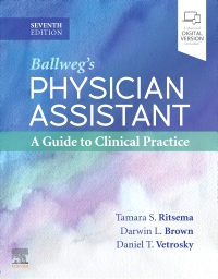 cover image - Physician Assistant: A Guide to Clinical Practice Elsevier eBook on VitalSource,7th Edition