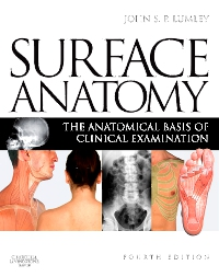 cover image - Surface Anatomy,4th Edition
