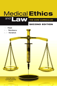 cover image - Medical Ethics and Law,2nd Edition