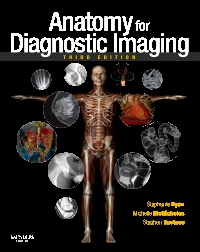 cover image - Anatomy for Diagnostic Imaging,3rd Edition