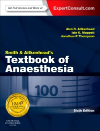 cover image - Smith and Aitkenhead's Textbook of Anaesthesia,6th Edition