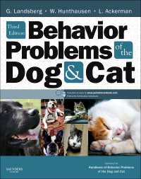 cover image - Behavior Problems of the Dog and Cat,3rd Edition