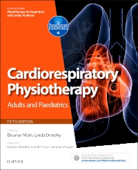 cover image - Cardiorespiratory Physiotherapy: Adults and Paediatrics,5th Edition