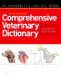 cover image - Saunders Comprehensive Veterinary Dictionary,4th Edition
