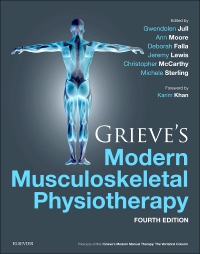 cover image - Grieve's Modern Musculoskeletal Physiotherapy,4th Edition