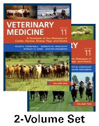 cover image - Veterinary Medicine,11th Edition