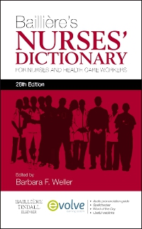 cover image - Evolve for Bailliere's Nurses' Dictionary,26th Edition