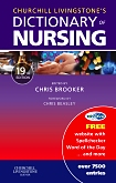 cover image - Evolve Resources for Churchill Livingstone's Dictionary of Nursing,19th Edition