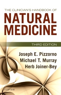cover image - The Clinician's Handbook of Natural Medicine,3rd Edition