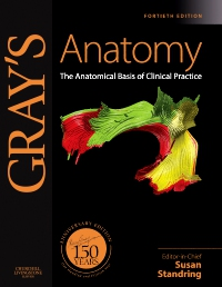 cover image - Gray's Anatomy - Elsevier eBook on VitalSource,40th Edition