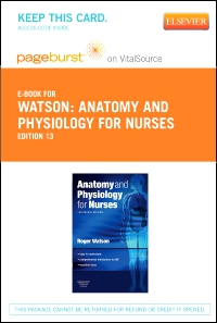 cover image - Anatomy and Physiology for Nurses - Elsevier eBook on VitalSource (Retail Access Card),13th Edition