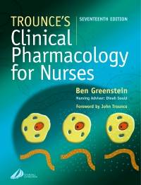 cover image - Trounce's Clinical Pharmacology for Nurses - Elsevier eBook on VitalSource,17th Edition