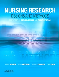 cover image - Nursing Research: Designs and Methods - Elsevier eBook on VitalSource