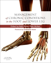 cover image - Management of Chronic Musculoskeletal Conditions in the Foot and Lower Leg - Elsevier eBook on VitalSource