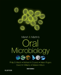 cover image - Marsh and Martin's Oral Microbiology - Elsevier eBook on VitalSource,6th Edition