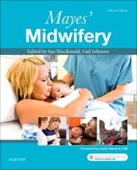 cover image - Mayes' Midwifery,15th Edition