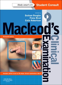 cover image - Evolve Resources for Macleod's Clinical Examination,13th Edition