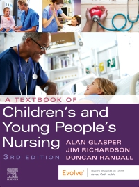 cover image - A Textbook of Children's and Young People's Nursing,3rd Edition