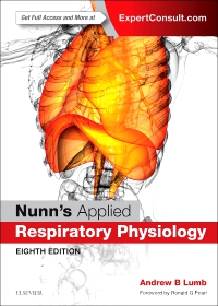 cover image - Nunn's Applied Respiratory Physiology,8th Edition