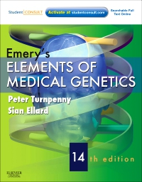 cover image - Emery's Elements of Medical Genetics Elsevier eBook on VitalSource,14th Edition