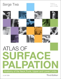 cover image - Atlas of Surface Palpation - Elsevier eBook on VitalSource,3rd Edition