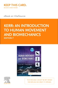 cover image - An Introduction to Human Movement and Biomechanics - Elsevier eBook on VitalSource (Retail Access Card),7th Edition