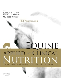 cover image - Equine Applied and Clinical Nutrition - Elsevier eBook on VitalSource