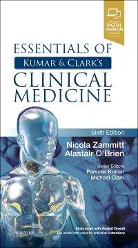 cover image - Essentials of Kumar and Clark's Clinical Medicine,6th Edition