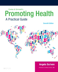 cover image - Ewles & Simnett's Promoting Health,7th Edition