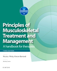 cover image - Principles of Musculoskeletal Treatment and Management,3rd Edition