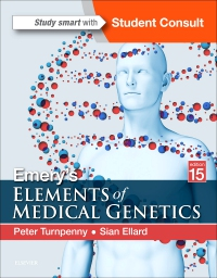 cover image - Emery's Elements of Medical Genetics Elsevier eBook on VitalSource,15th Edition