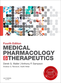 cover image - Evolve Resource for Medical Pharmacology & Therapeutics,4th Edition