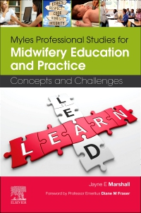cover image - Myles Professional Studies for Midwifery Education and Practice Elsevier eBook on VitalSource