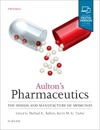 cover image - Aulton's Pharmaceutics,5th Edition