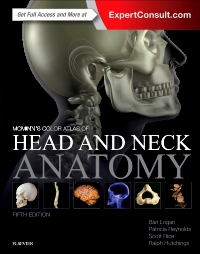 cover image - McMinn's Color Atlas of Head and Neck Anatomy,5th Edition