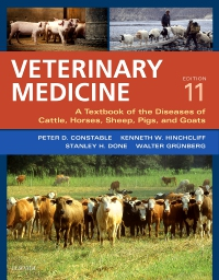 cover image - Veterinary Medicine - Elsevier eBook on VitalSource,11th Edition
