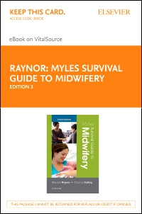 cover image - Myles Survival Guide to Midwifery - Elsevier eBook on VitalSource (Retail Access Card),3rd Edition
