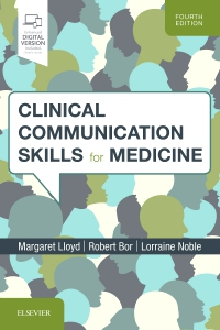 cover image - Clinical Communication Skills for Medicine,4th Edition