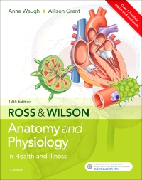cover image - Ross & Wilson Anatomy and Physiology in Health and Illness Elsevier eBook on VitalSource,13th Edition
